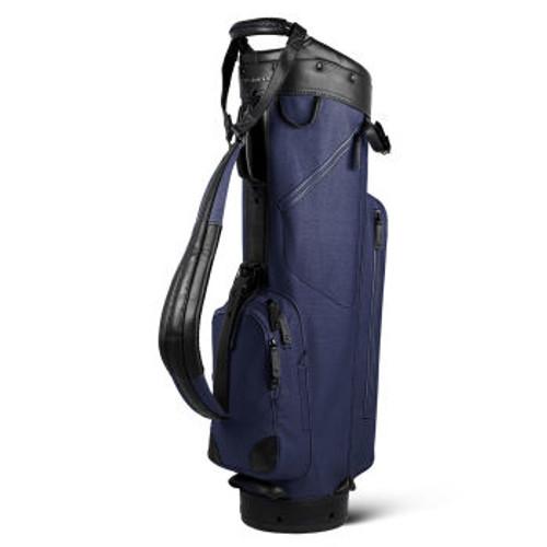 Sun Mountain Canvas / Leather Cart Bag - Navy / Black