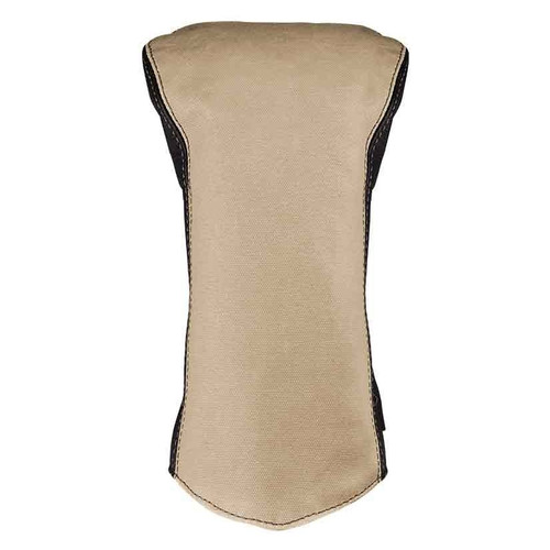 Sun Mountain Canvas / Leather Driver Headcover - Natural / Brown