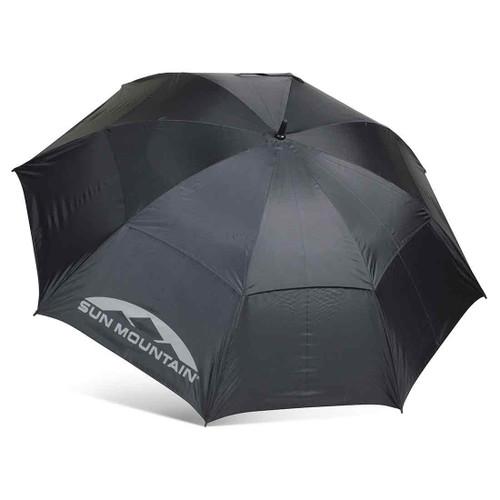 "Sun Mountain 68"" Manual UV Umbrella - Black"