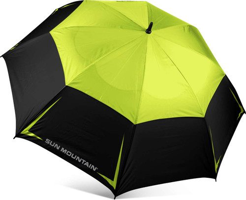"Sun Mountain 68"" Manual UV Umbrella - Rush / Black"