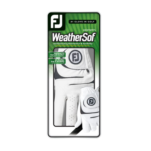 FootJoy WeatherSof Womens Golf Glove Box of 6