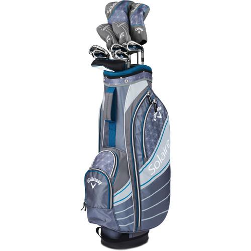 Callaway Womens Solaire 11 Piece Golf Niagara Blue Set