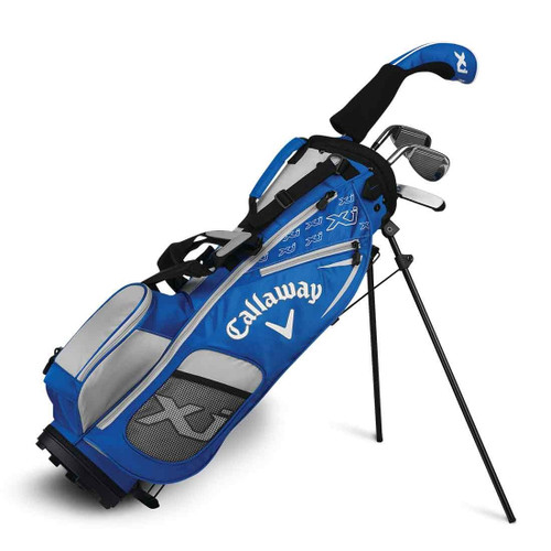 Callaway XJ-1 4 Piece Junior Golf Set - Blue