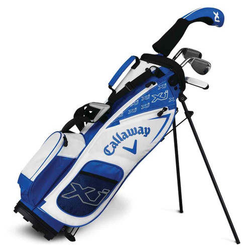 Callaway XJ-2 6 Piece Junior Golf Set - Blue