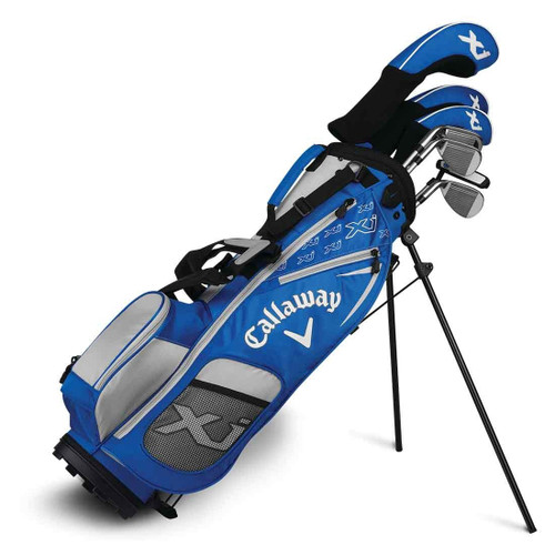 Callaway XJ-3 7 Piece Junior Golf Set - Blue