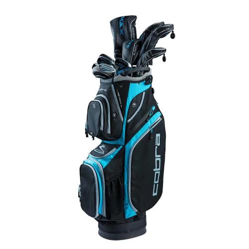Cobra F-Max Superlite Womens Complete Golf Set - Black / Lexi Blue