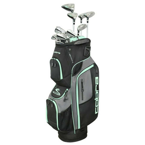 Cobra XL Speed Womens Complete Golf Set - Black / Mint