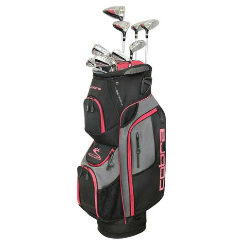 Cobra XL Speed Womens Complete Golf Set - Black / Pink