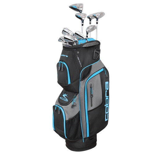 Cobra XL Speed Womens Complete Golf Set - Black / Blue