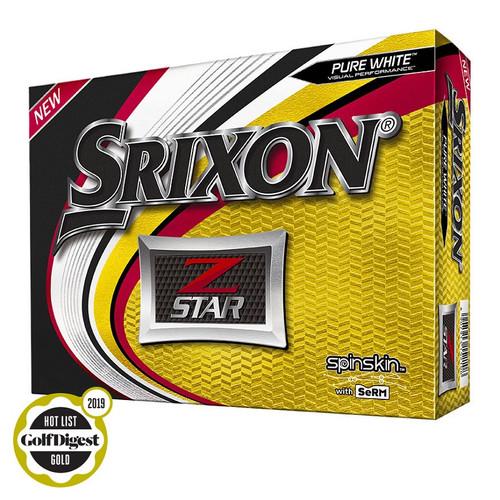 Srixon Z-Star 6 Personalized Golf Balls Dozen