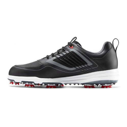 FootJoy FJ Fury Golf Shoes - Black / Red (51103)