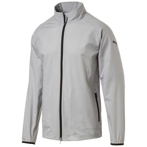 Puma Zephyr Golf Jacket - Quarry