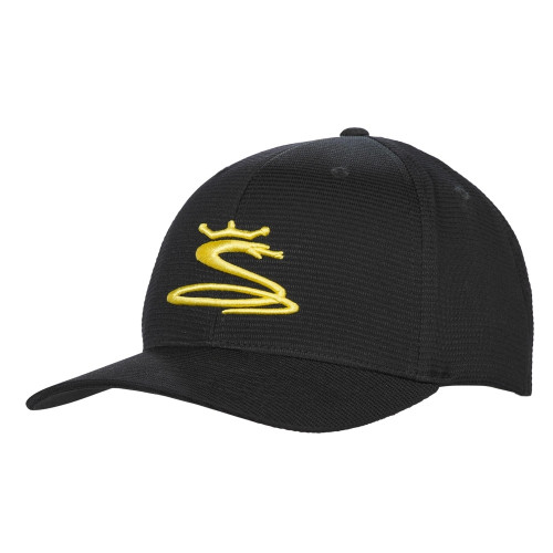 Cobra Tour Snake Snapback Caps - Black / Yellow