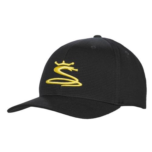 Cobra Tour Snake Snapback Caps - Black / Yellow