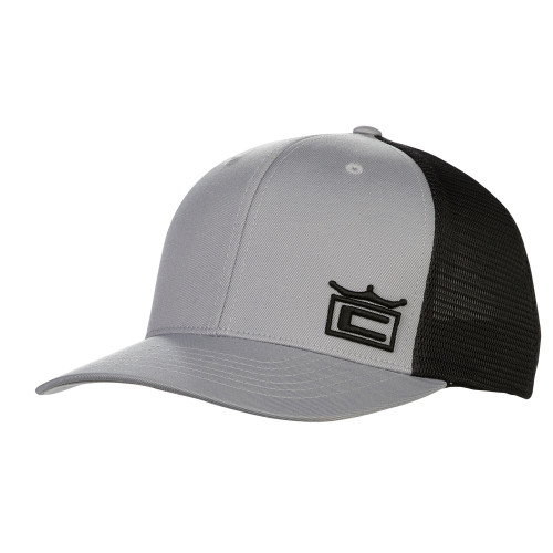 Cobra Crown Trucker Snapback Cap - Quarry