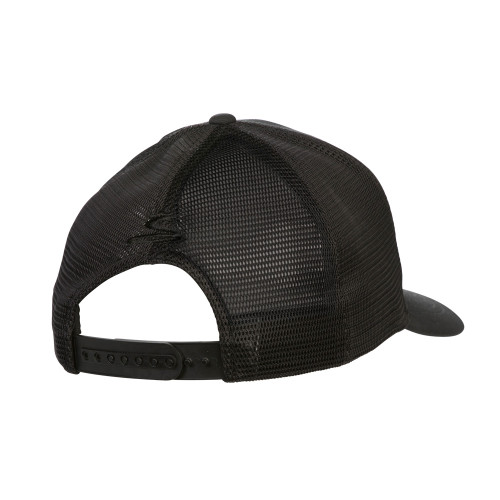Cobra Crown Trucker Snapback Cap - Black
