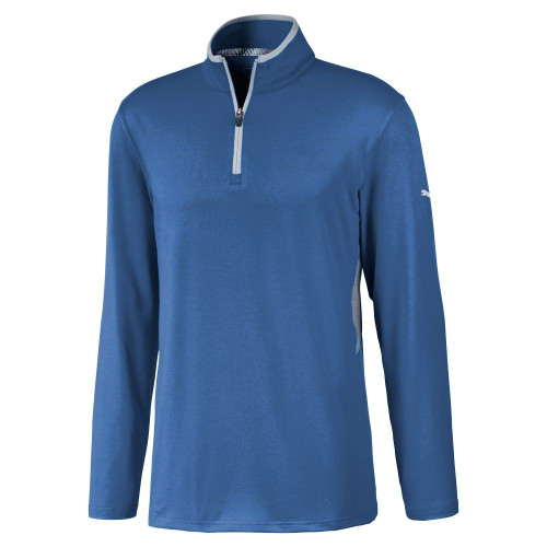 Puma Rotation 1/4 Zip Golf Top - Star Sapphire