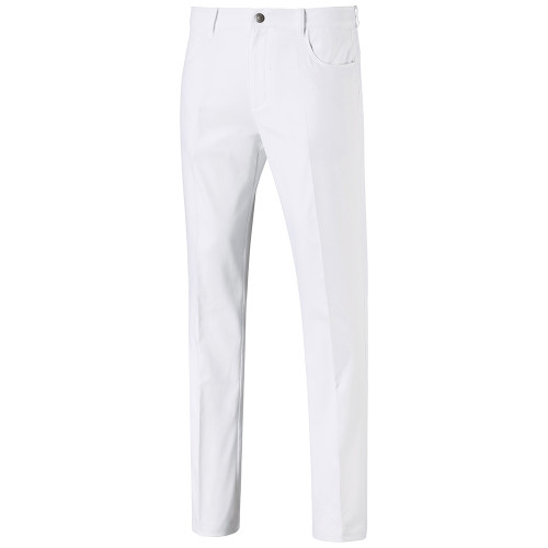 Puma Jackpot 5 Pocket Pants - Bright White