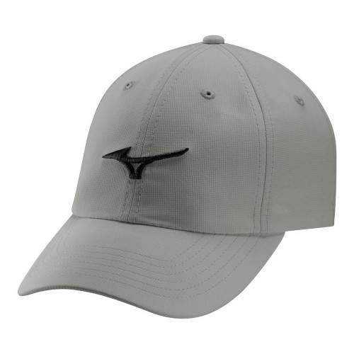 Mizuno Tour Adjustable Lightweight Cap - Frost Grey / Black