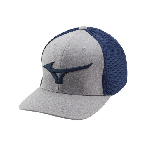 Mizuno Fitted Meshback Cap - Navy
