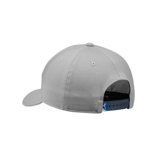 Mizuno 919 Snapback Cap - Grey (back view)