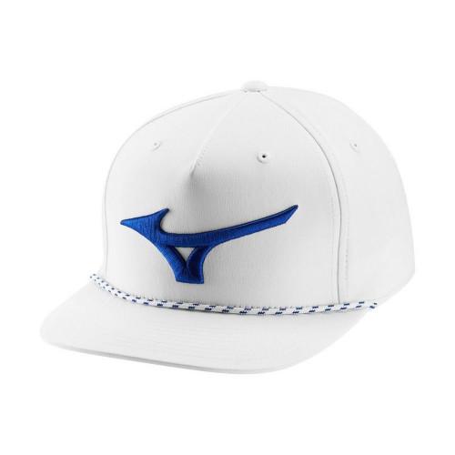 Mizuno Runbird Rope Hat - White / Royal