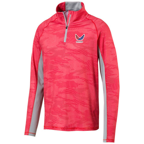 Puma Volition 1/4 Zip Top - High Risk Red