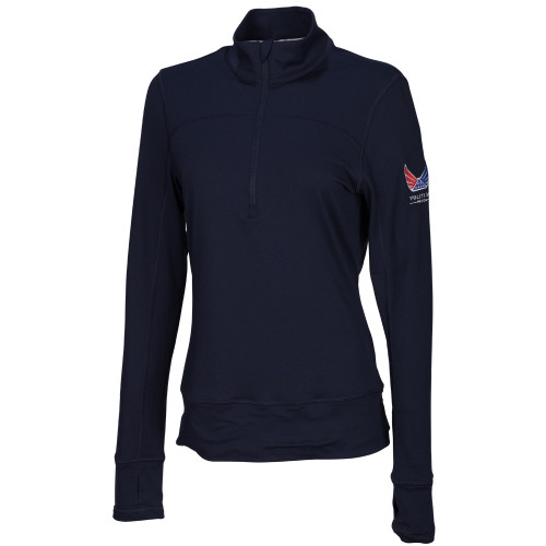 Puma Womens Volition 1/4 Zip Popover - Peacoat