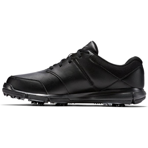Nike Durasport 4 Golf Shoes - Black / Metallic Silver
