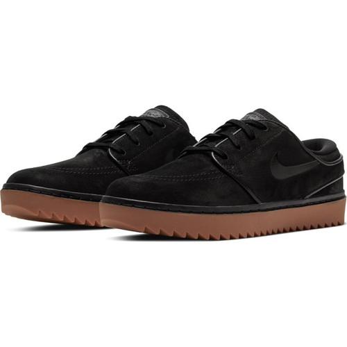 Nike Janoski G Golf Shoes - Black / Black / Med Brown