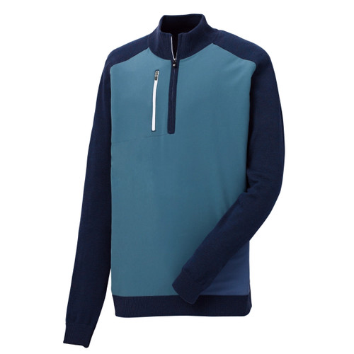 FootJoy Tech Sweater - Denim / Navy (25163)