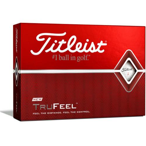Titleist TruFeel Dozen Golf Balls - White