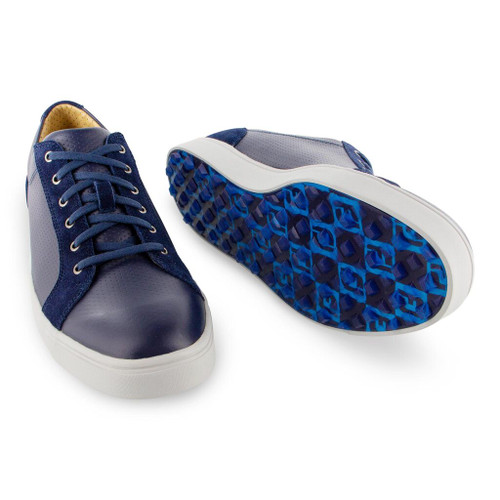 FootJoy Club Casuals Blucher Golf Shoes - Navy (79056)