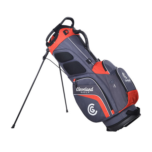 Cleveland CG Stand Bag 2020 - Charcoal / Red
