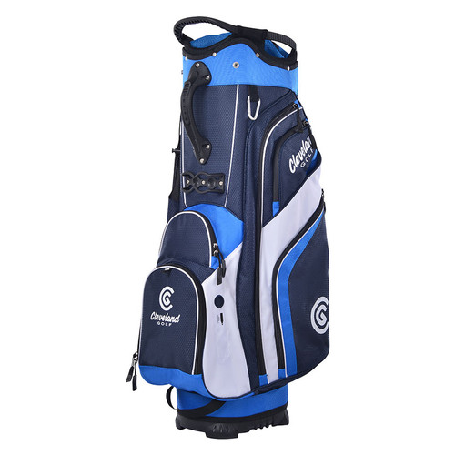 Cleveland CG Cart Bag 2020 - Navy / Royal / White