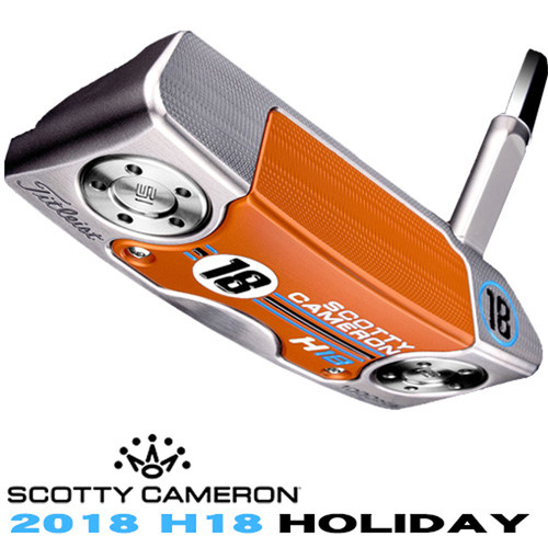 Scotty Cameron H18 Holiday Squareback Limited Edition Putter