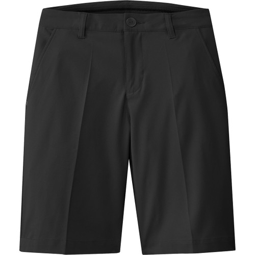 Adidas Boys Solid Shorts - Black