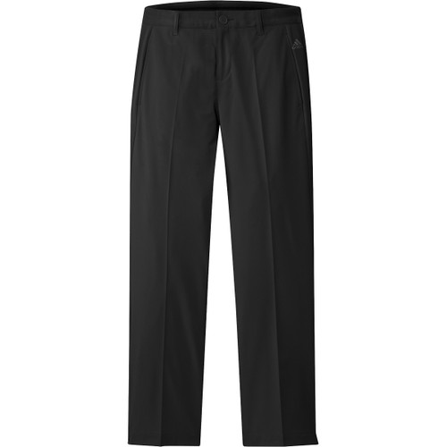 Adidas Boys Solid Pants - Black