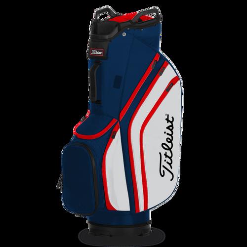 Titleist Cart 14 Lightweight Bag - Navy / White / Red