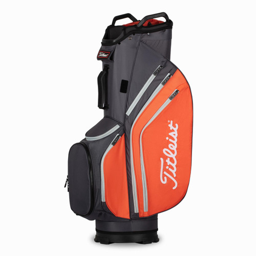 Titleist Cart 14 Lightweight Bag - Graphite / Flame / Gray