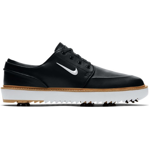 Nike Janoski Tour Golf Shoes - Black / White / Vachetta Tan