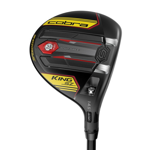 Cobra King SPEEDZONE Fairway Woods - Black / Yellow