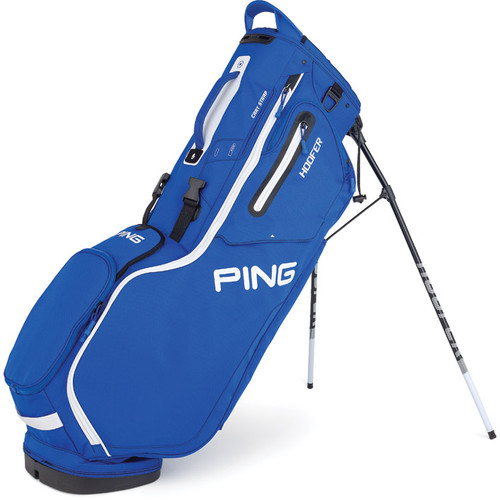 Ping Hoofer Personalized Stand Bags - Royal / White