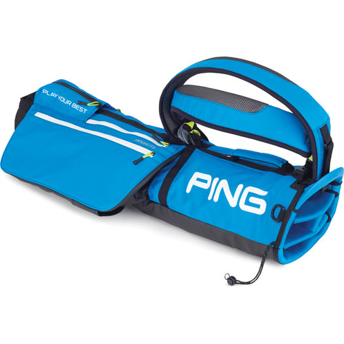 Ping MoonLite Carry Bags - Bright Blue / Neon