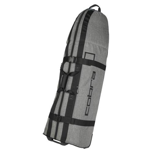 Cobra Crown Rolling Club Travel Bag - Grey / Black