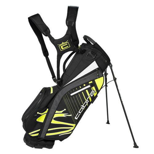 Cobra Ultralight Stand Bag - Black / Turbo Yellow
