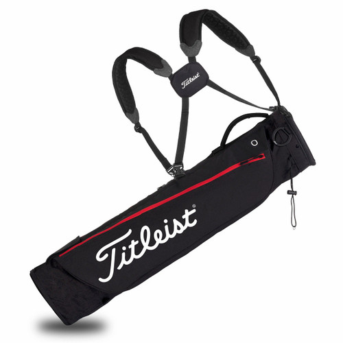 Titleist Carry Bag - Black / Red