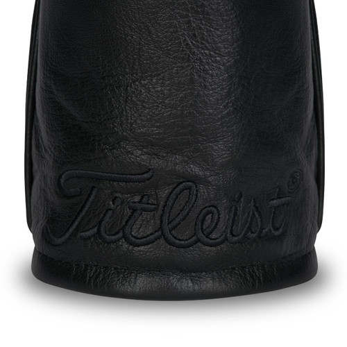 Titleist Leather Driver Headcovers - Black Out