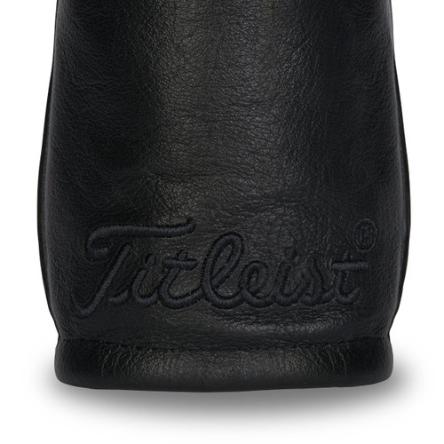 Titleist Leather Fairway Headcovers - Black Out