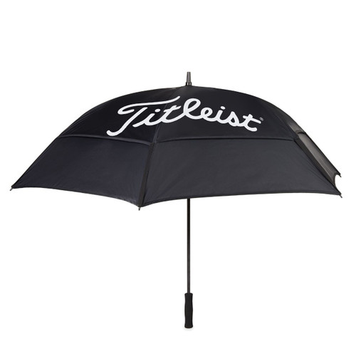Titleist Players Double Canopy Umbrella - Black / White
